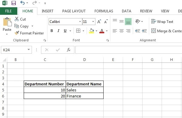 Excel 2013 Tutorial